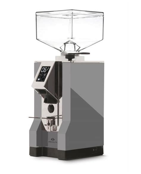 Shop the new range of manual and electric burr coffee grinders at filtercoffeemachine.co.uk. Eureka Mignon Specialita Grey Variable Burr Electric Coffee Grinder - Barista Del Caffe