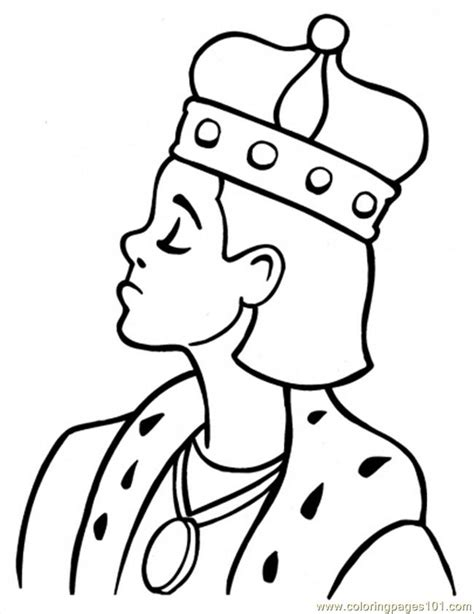King Kleurplaat by King Coloring Page Free Royal Family Coloring Pages