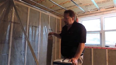 using roxul insulation resilient channels type x