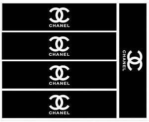 chanel themed water bottle labels by mayodesignco on etsy With chanel water bottle labels