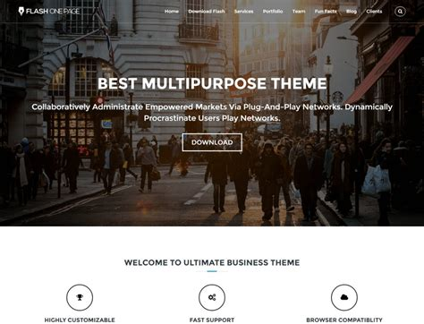 One Page Theme 15 Best Free One Page Themes 2019 Themegrill