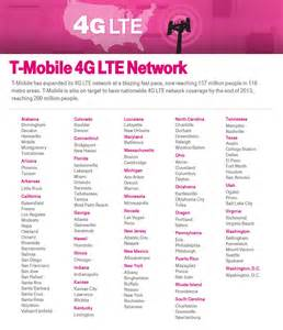 T-Mobile 4G LTE Coverage Map