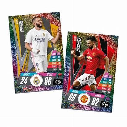 Attax Match Cards Benzema Tin Mega Bundle