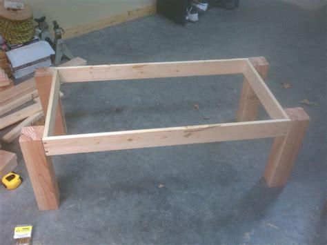pine coffee table plans plans diy   simple