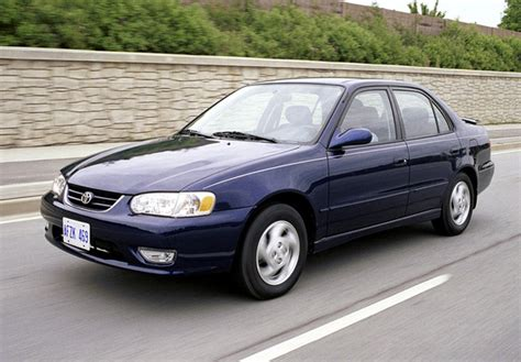 02 Toyota Corolla by Toyota Corolla S Sedan Us Spec 2001 02 Images