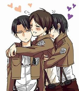 45 best Levi x Eren images on Pinterest | Shingeki no ...