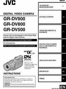 Jvc Gr Dv500u User Manual Digital Video Camera Manuals And