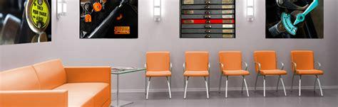 theme de bureau décoration de bureau entreprise tableau décoratif mural