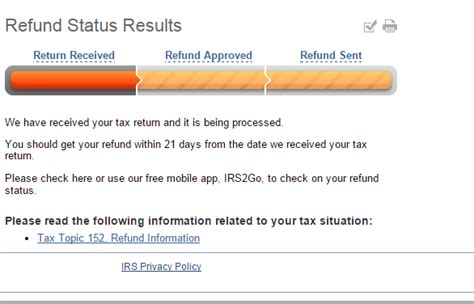 irs tax refund schedule irs wheres  refund