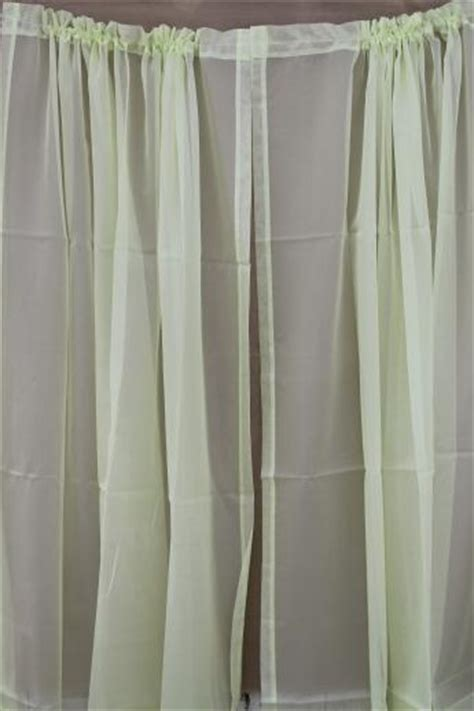 retro vintage curtains for large window 60s olive green