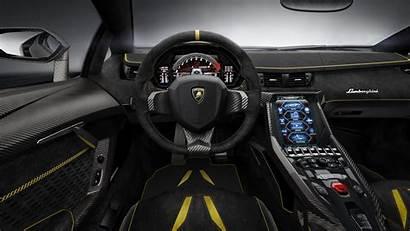 Interior Lamborghini Luxury Super Steering Wheel Centenario