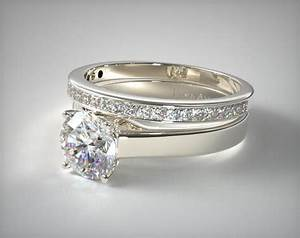 Settings of engagement ring sets determine their styles for Wedding bands and engagement ring sets