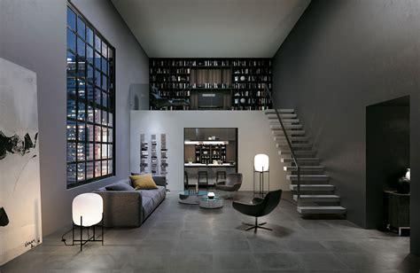 piastrelle soggiorno piastrelle grigio scuro per soggiorno gres porcellanato
