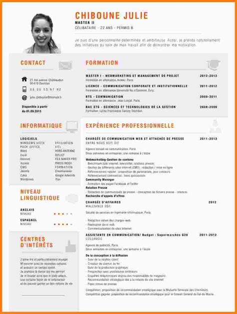 Comment Faire Un Cv Exemple Gratuit by Comment Faire Un Bon Cv Exemple Ecrire Un Cv Gratuit Degisco