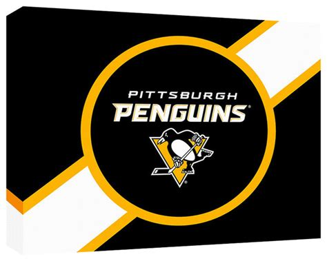 pittsburgh penguins logo  contemporary home