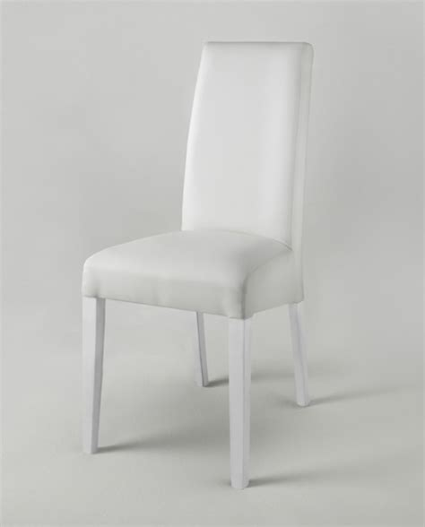 chaise blanche salle a manger chaise salle manger blanche