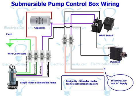submersible box wiring diagram for 3 wire single phase electrical 4u