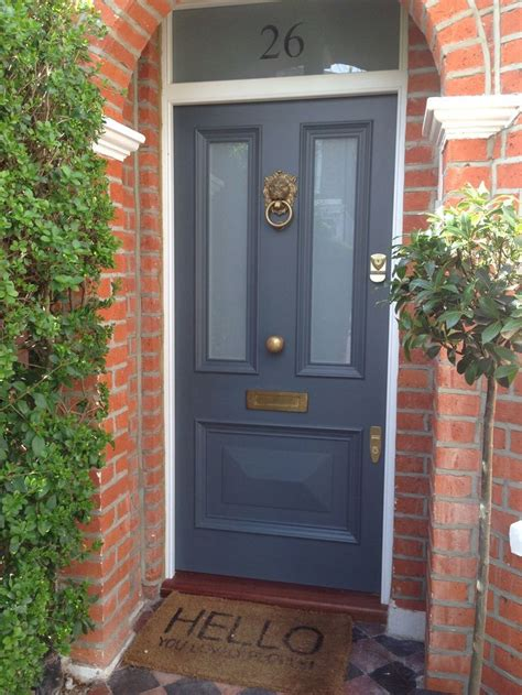 farrow and ball painted colours blue front doors google