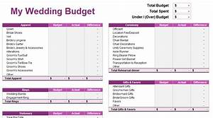 wedding budget spreadsheet young adult money With things to budget for a wedding
