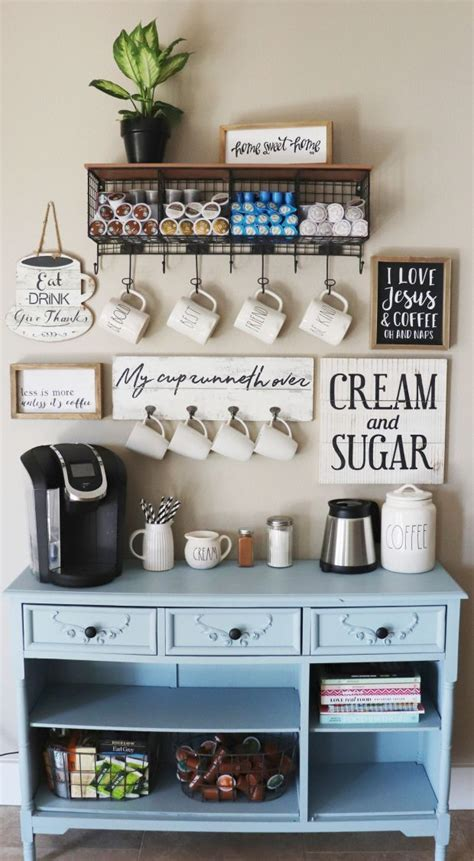 Yellow pages » oh » willard » coffee shops. Creating Our Coffee Bar | Coffee bar home, Coffee nook, Home coffee stations