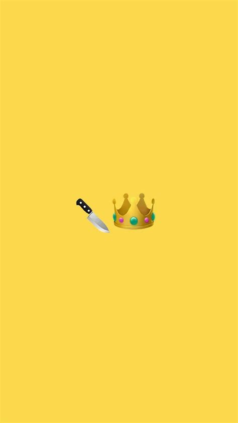 cute yellow slay queen snapchat background wallpaper
