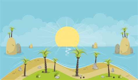 Background Images Island Background 2d Opengameart Org