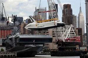 Space Shuttle Enterprise Docks At New York?s Intrepid Museum: How & When You Can See It