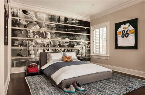 Baseball Themed Bedroom by 47 Really Sports Themed Bedroom Ideas Home
