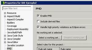 Usando PMD desde Eclipse – Un poco de Java y