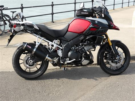 Suzuki V Strom 2014 by Suzuki V Strom Dl1000 Adventure 2014 Exhaust Gallery