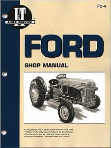 Ford Tractor Repair Manual Models 2n  2nan  8n  8nan  9n