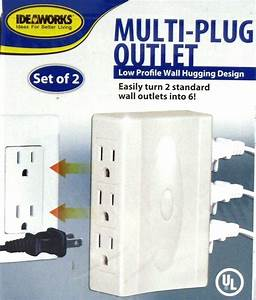 Multi Plug Outlet With 6 Side Outlets