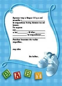 Tarjetas De Baby Shower En Espanol