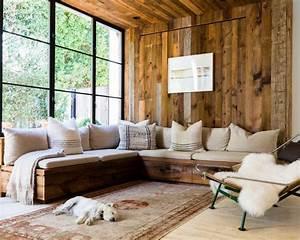idees et photos pour une salle de sejour moderne rustique With salon de jardin confortable et zen 16 maison de campagne moderne idees sur linterieur et le jardin