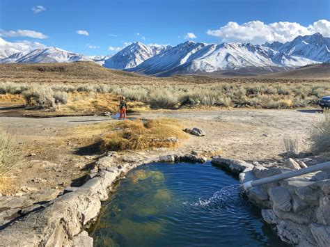 Epic Natural Hot Springs Near Mammoth No Back Home