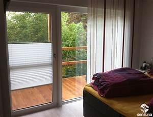 Vorhang Für Terrassentür : auch f r breite fenster und t ren geeignet plissees als ~ Watch28wear.com Haus und Dekorationen