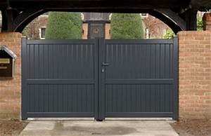 Portail 4 Metres Brico Depot : portail battant aluminium mauriac ~ Dailycaller-alerts.com Idées de Décoration