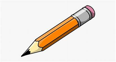 Pencil Clipart Clip Lead Cartoon Transparent Pen