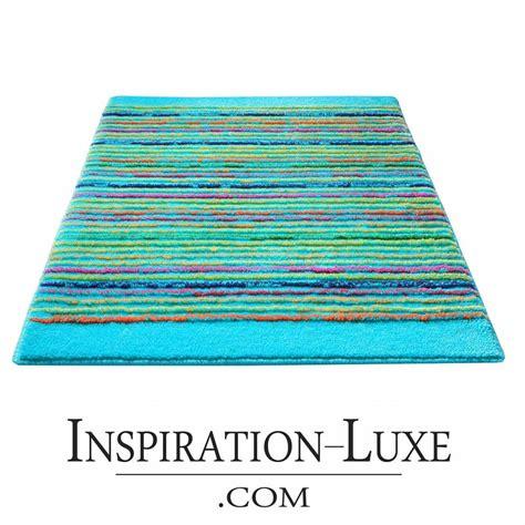 becquet tapis salle de bain tapis de salle de bain de luxe turquoise
