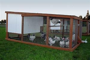 Unique Ideas Mobile Homemade Chicken Coop