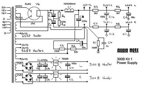 of schematics by brand audio note kit1