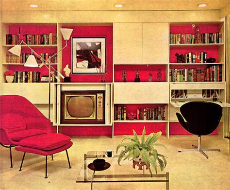 Home Interior 1970s : Messy Nessy Chic