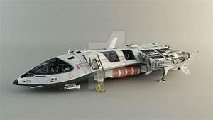 Spaceship - Concept by leccotamura on DeviantArt