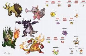 Pokemon Fusion Doodles 3