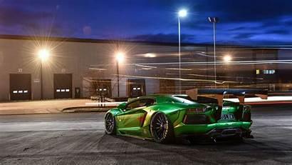 Lamborghini 4k Aventador 8k Wallpapers Rear Liberty