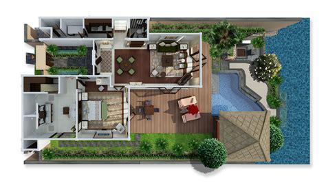 1 bedroom house plans bali villa lagoon villa one bedroom st regis bali
