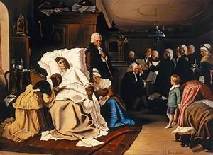 Filehermann Kaulbach Mozarts Letzte Tage 1873