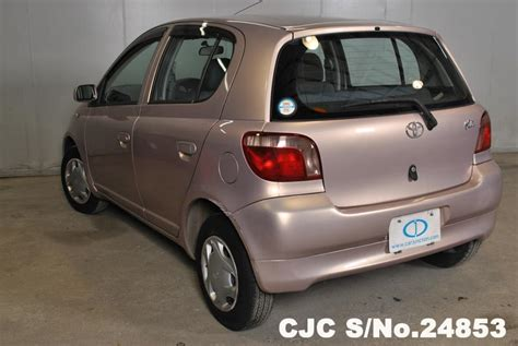 toyota vitz yaris pink  sale stock