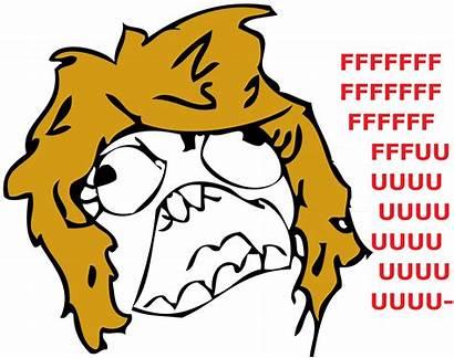 Rage Face Meme Faces Female Script Fare