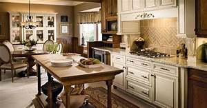 Pin by kim stevens on kitchens pinterest kitchens for Kitchen cabinets lowes with large vintage wall art